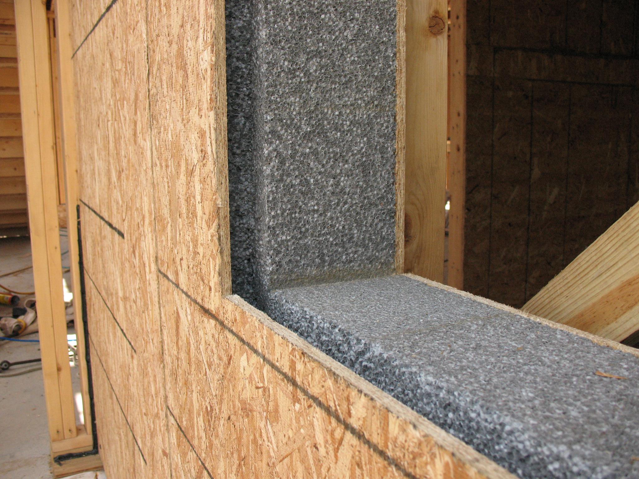 Использование ОСБ плит для возведения стен дома