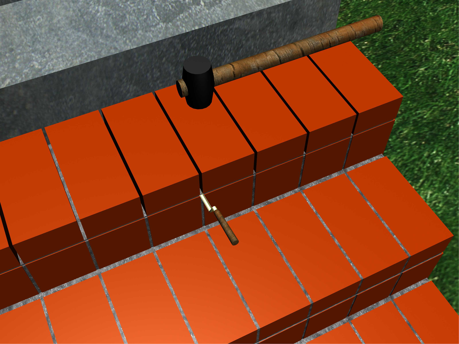 Build-Brick-Stairs-Step-10