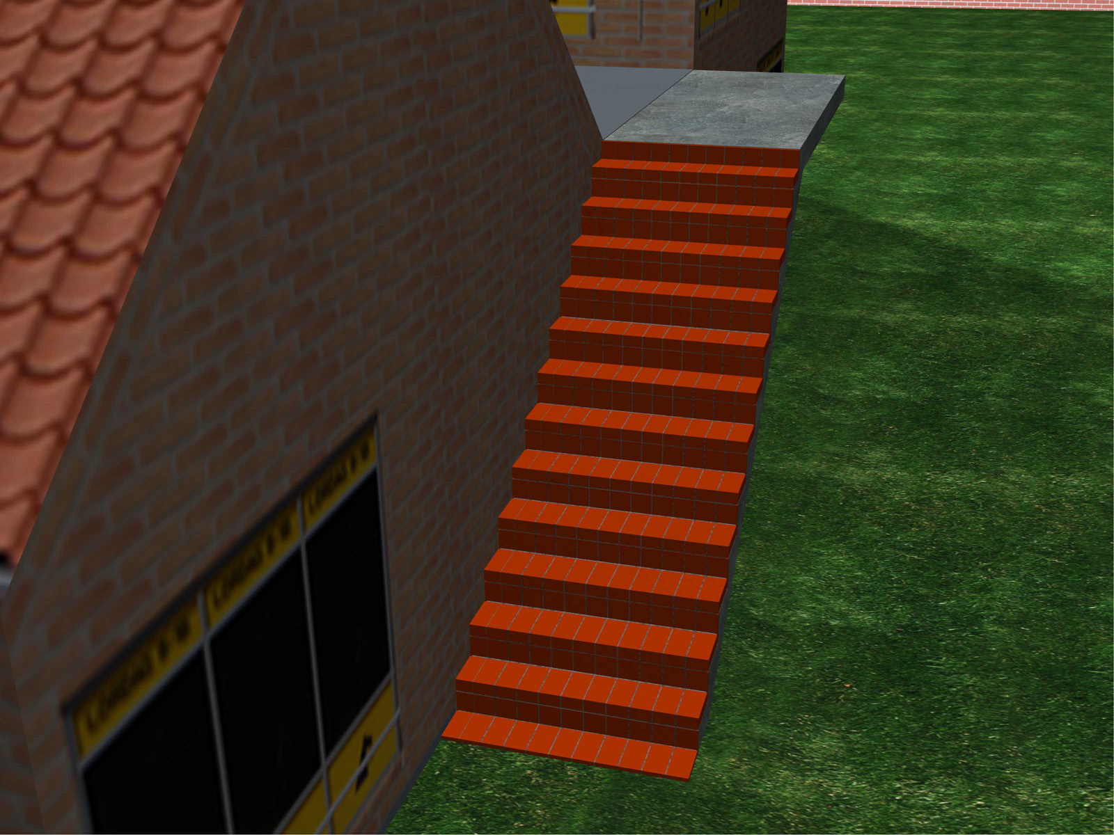 Build-Brick-Stairs-Step-15