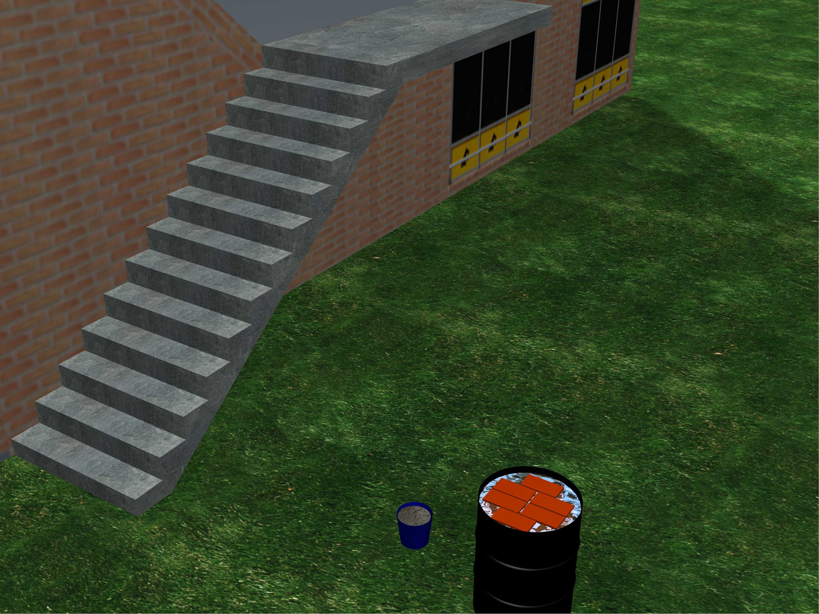Build-Brick-Stairs-Step-6
