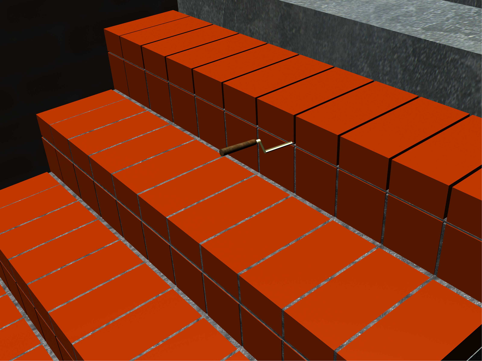 Build-Brick-Stairs-Step-9