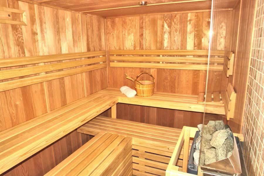 Сауна в подвале частного дома