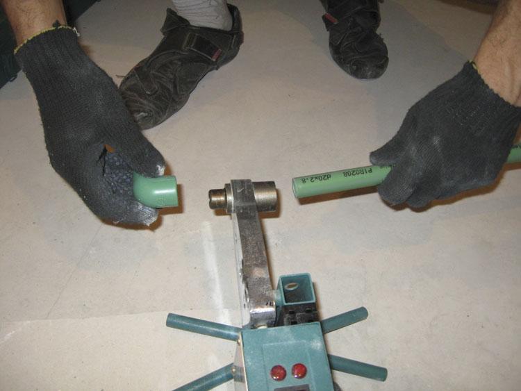 Насадки для пайки полипропиленовых труб своими руками 74