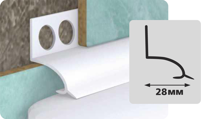 Чем заделать щель между ванной и стеной: пластиковые уголки