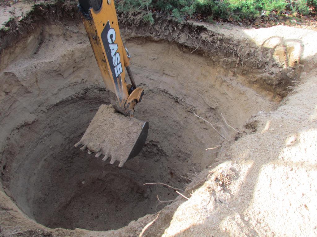 Выбираем место строительства сливной ямы