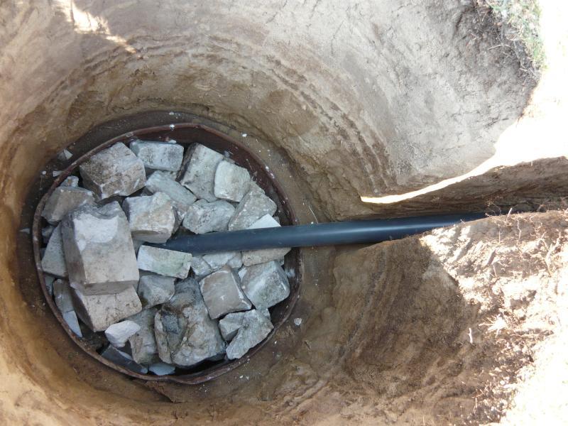 Сливная яма из металлической бочки своими руками