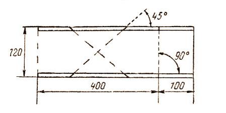 Пример разметки стусло