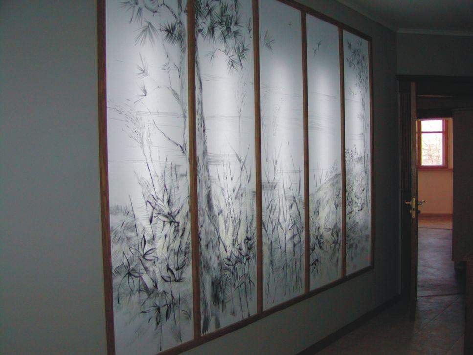 Светодиодные ленты под натяжным потолком фото