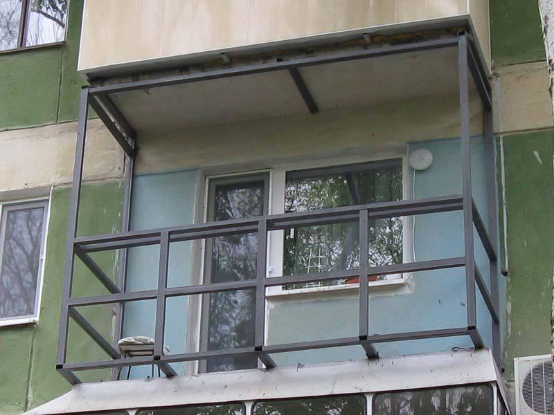 Вынос балкон своими руками