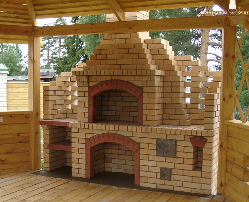 Печь барбекю строим сами комнотный электрический камин