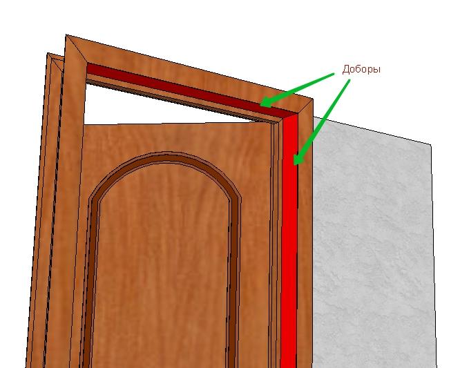 Дверной добор своими руками видео