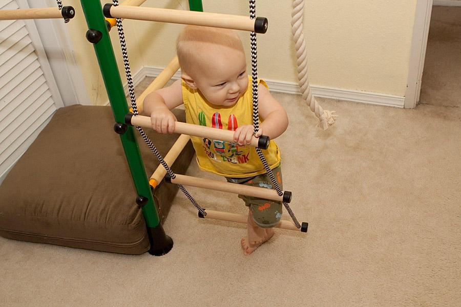 Веревочная лестница для самых маленьких