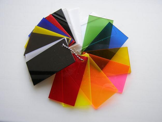 Оргстекло различных цветов
