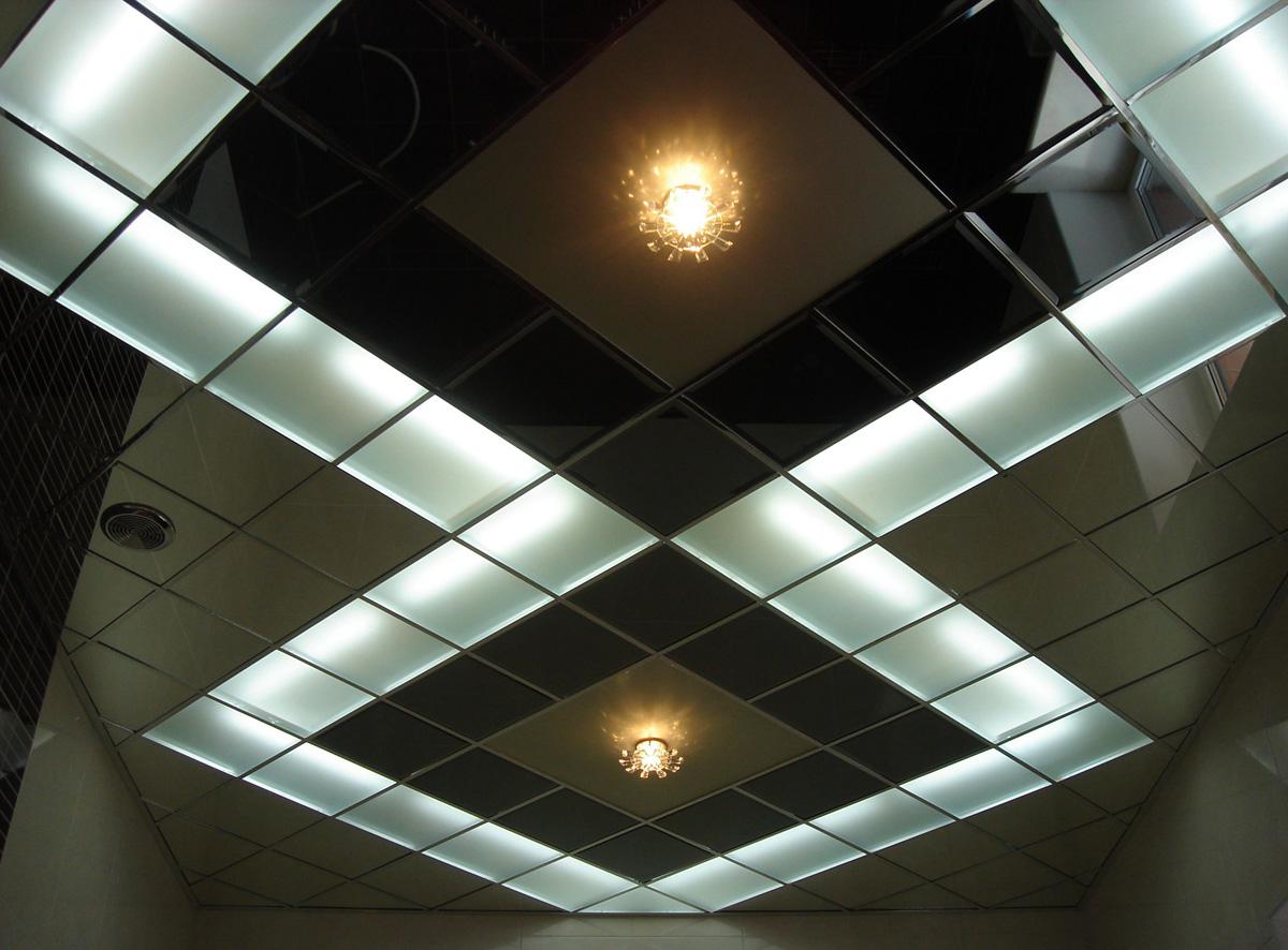 Подвесной потолок Армстронг с потолочными плитами