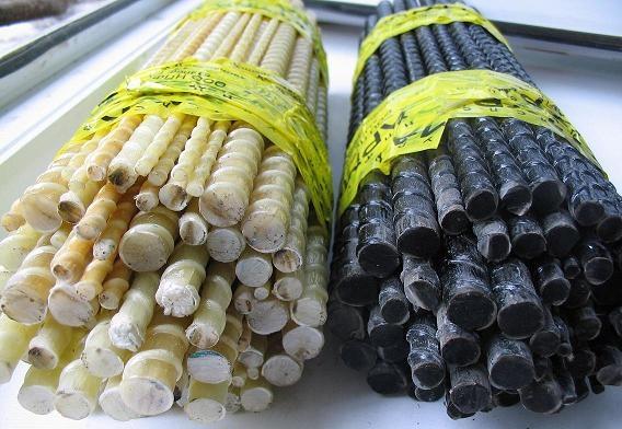 Стеклопластиковая арматура в прутках