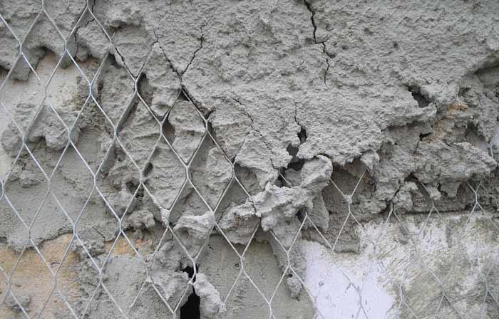 Использование армирующей стекловолоконной сетки