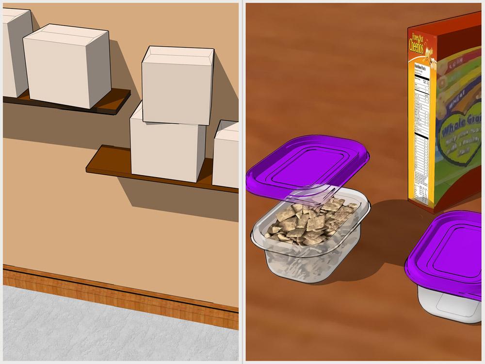 Источники питания чешуйницы храним в упаковке