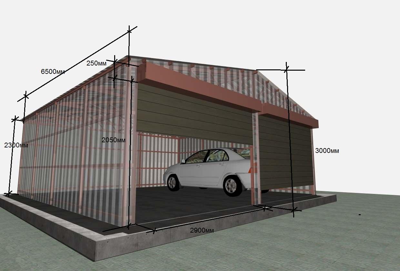 Проекты гараж своими руками
