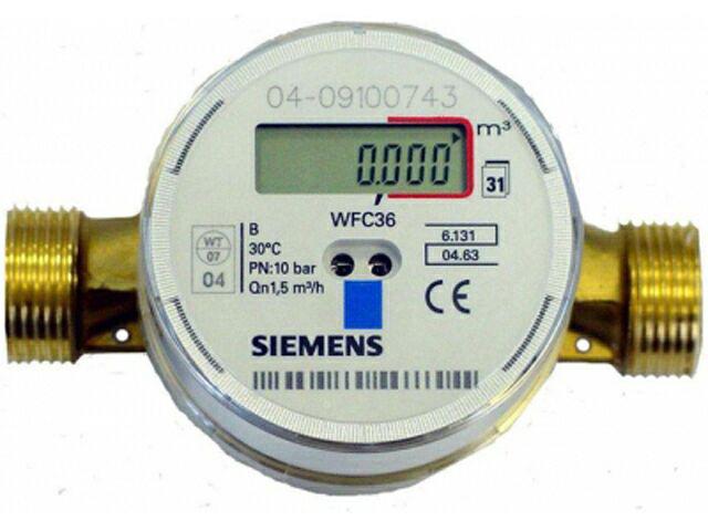 Электронный водосчётчик Siemens