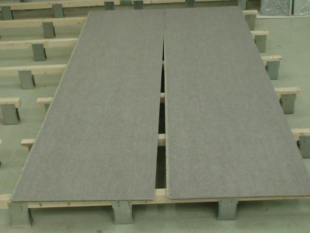 Выравнивание пола цементно-стружечными плитами