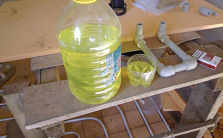 Жидкое мыло для повышения пластичности раствора