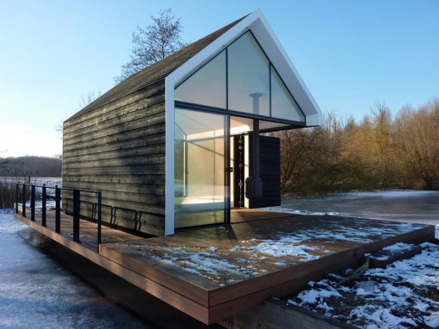 Дизайн плавучего дома