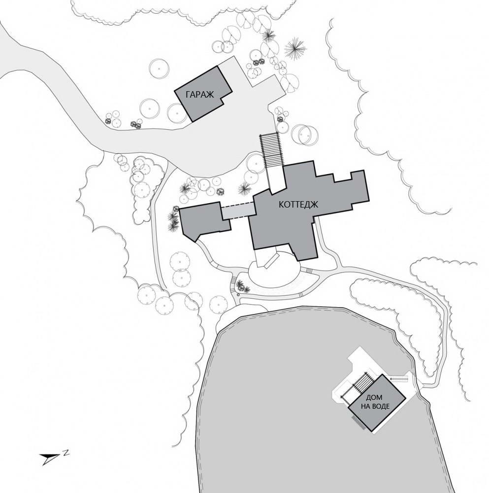 План придомной территории