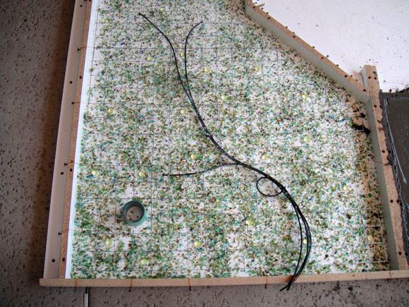 Декорирование столешницы из бетона