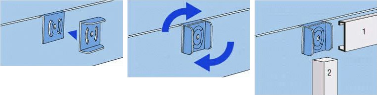 Крепления для отделки гипсокартонными плитами