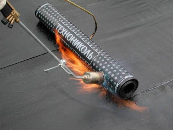 Наплавляемая рулонная гидроизоляция