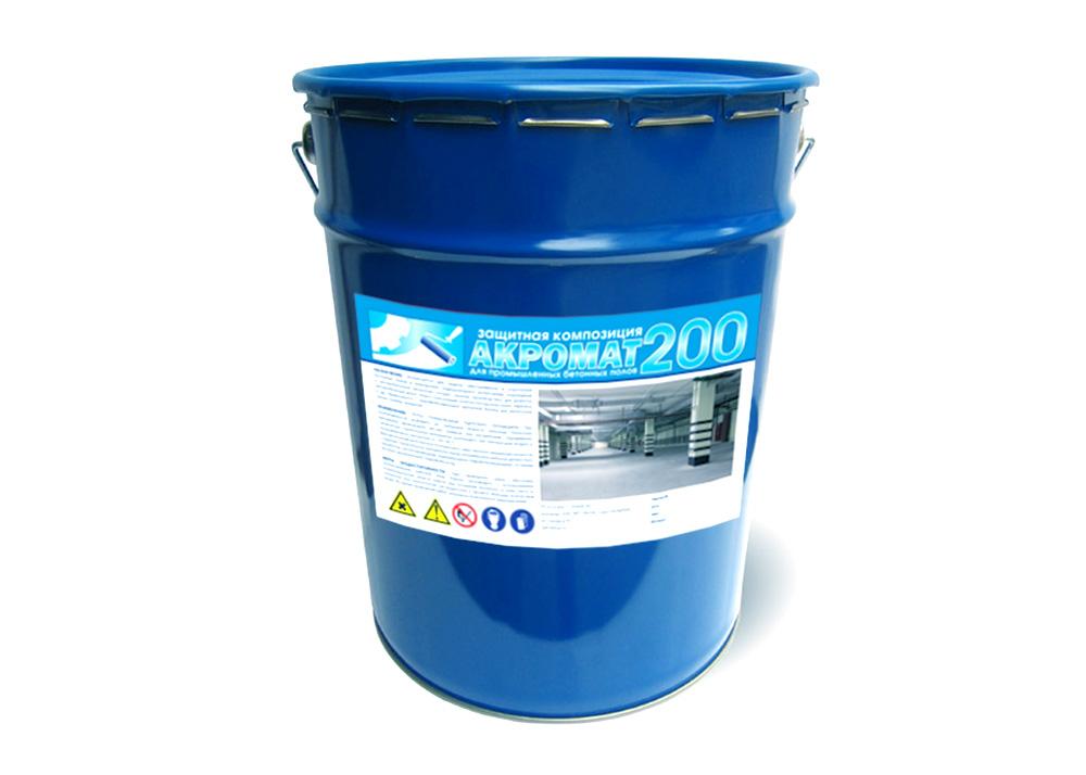 Полиуретановая эмаль для бетонного пола