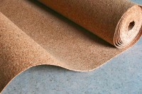 Пробковая подложка для укладки ламината