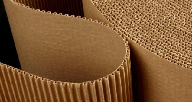Подложка из гофрированного картона