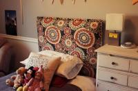 Как сделать мягкое изголовье для детской кровати