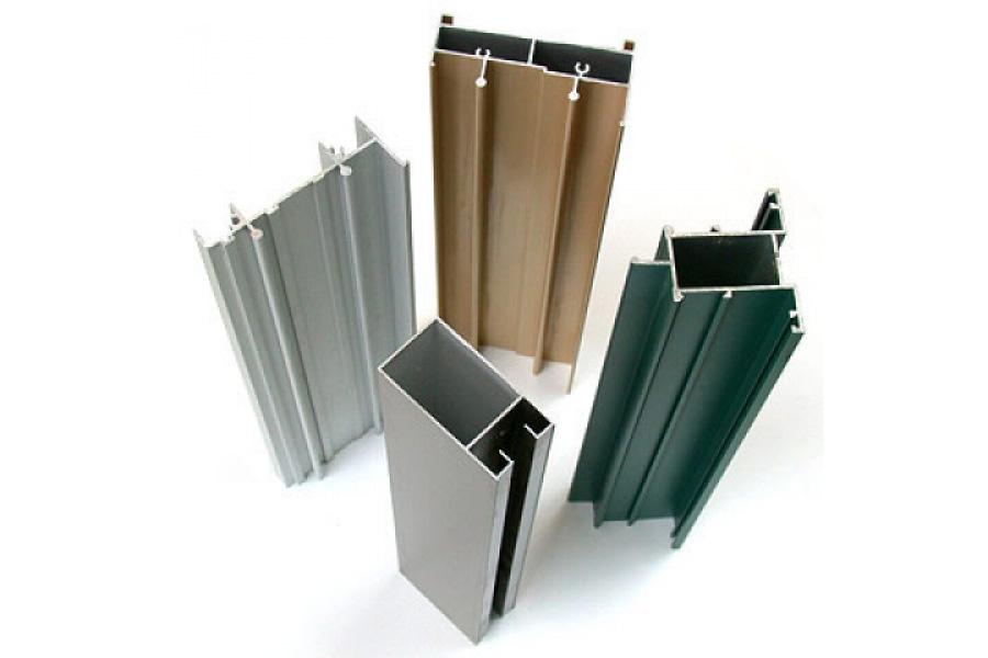 Алюминиевый профиль разных цветов