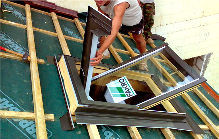 Мансардные окна инструкция по установке