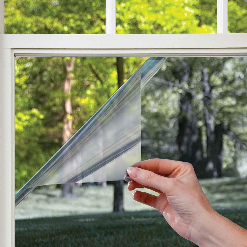 Зеркальная солнцезащитная пленка для окон