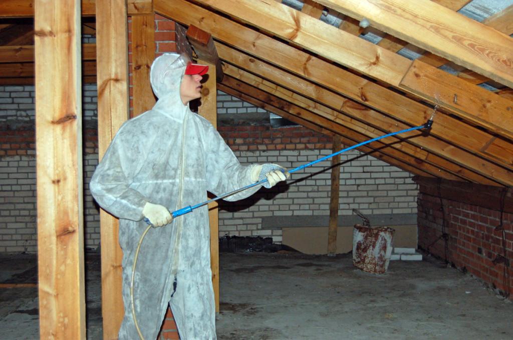 Огнезащитная обработка чердачных помещений