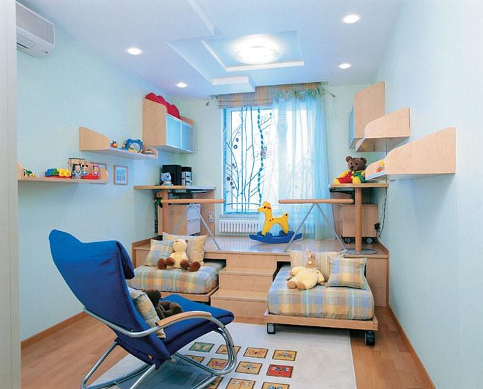 Визуальное разделение комнаты