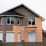 Обшивка стен дома снаружи пеноплексом