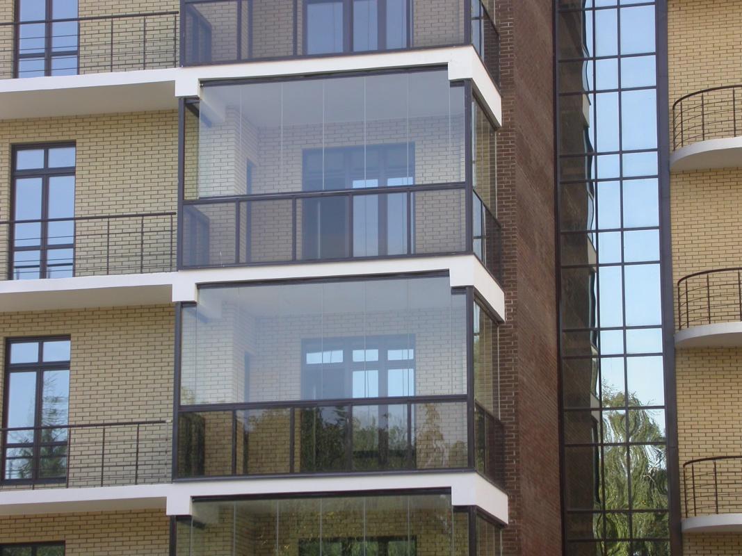 Остекление балкона из алюминиевого профиля своими руками