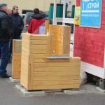 Образцы срубов деревянных домов из профилированного бруса от компании «ВДВ-Строй»