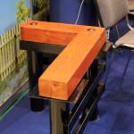 Монтаж деревянных конструкций на винтовые сваи