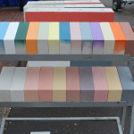 Цветовые исполнения стандартного силикатного кирпича (Ярославский завод силикатного кирпича)