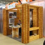 Строительная компания Woods (деревянные дома и бани) на выставке Holzhaus 2015