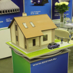 Проект дома на выставке «Загородный дом – 2015» («ЭКО»)