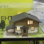 Модель-проект загородного коттеджа («ЯРМIК»)