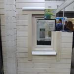 Установленное окно в разрезе