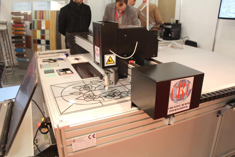 Нанесение рисунка по технологии INFILL