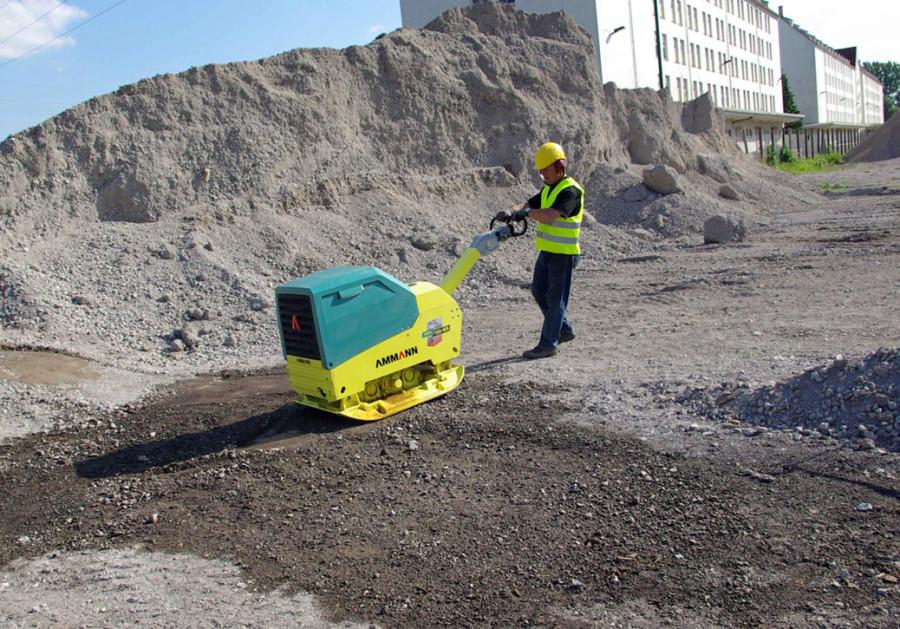 Обработка грунта с помощью Ammann APH 110-95